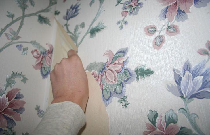 tapete entfernen ber die schon gestrichen wurde. Black Bedroom Furniture Sets. Home Design Ideas