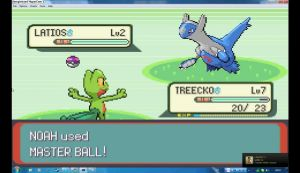 In Pokemon Emerald Latios finden